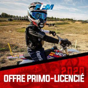Offre primo licenciés FFM 2020