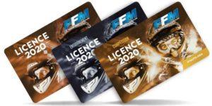Tarifs Licences 2020